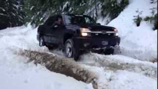 Chevy Avalanche in SNOW