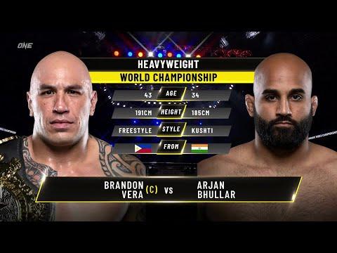 Brandon Vera vs. Arjan Bhullar | ONE Championship Full Fight
