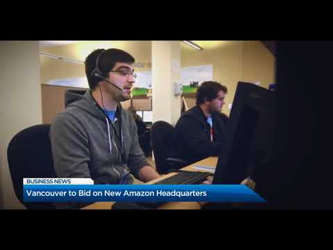 BIV on Global BC September 8, 2017: Could Amazon open a second HQ in Vancouver?