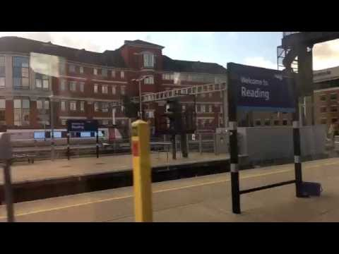 Great Western Railways (GWR) train journey from Temple Meads, Bristol to London Padington