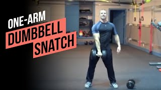 One Arm Dumbbell Snatch