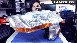 Lancer Fix 37 | JDM Cedia Headlights, LED, 6000k, 7000k