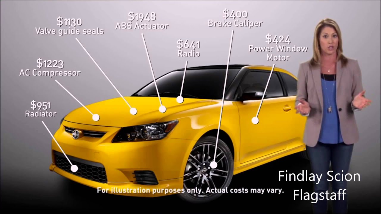 Findlay Scion Flagstaff Vehicle Service Agreements Youtube