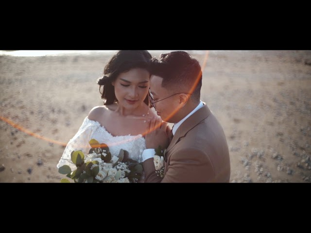 CLIP VIDEO OUTDOOR WEDDING BALI I THESAN & FELICIA