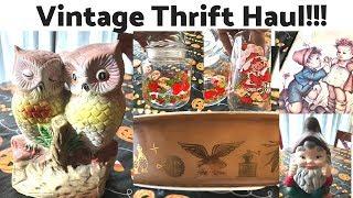 Goodwill Thrift Haul   Vintage