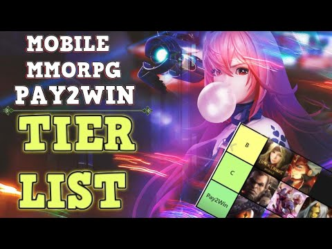MOBILE MMORPG Pay2Win TIER LIST 2020 IOS|Android