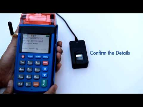 How to use Oxigen Micro ATM for Aadhaar linked Cash Deposit, withdrawal & Credit Card Payments.