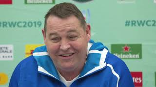 Match Reaction with Steve Hansen
