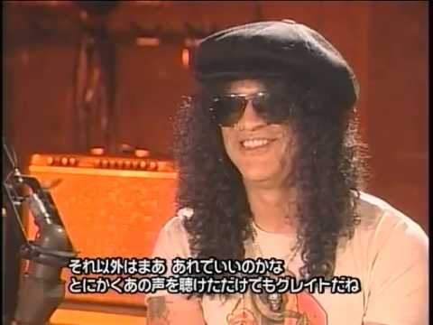 Slash Talks About Scott And Axl