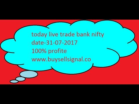 Buy sell signal software live intraday trading video 31-07