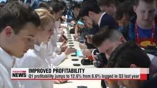 Samsung Electronics profits continue to improve in Q1   삼성전자 1분기 성적, ′수익성′ 개선세 보