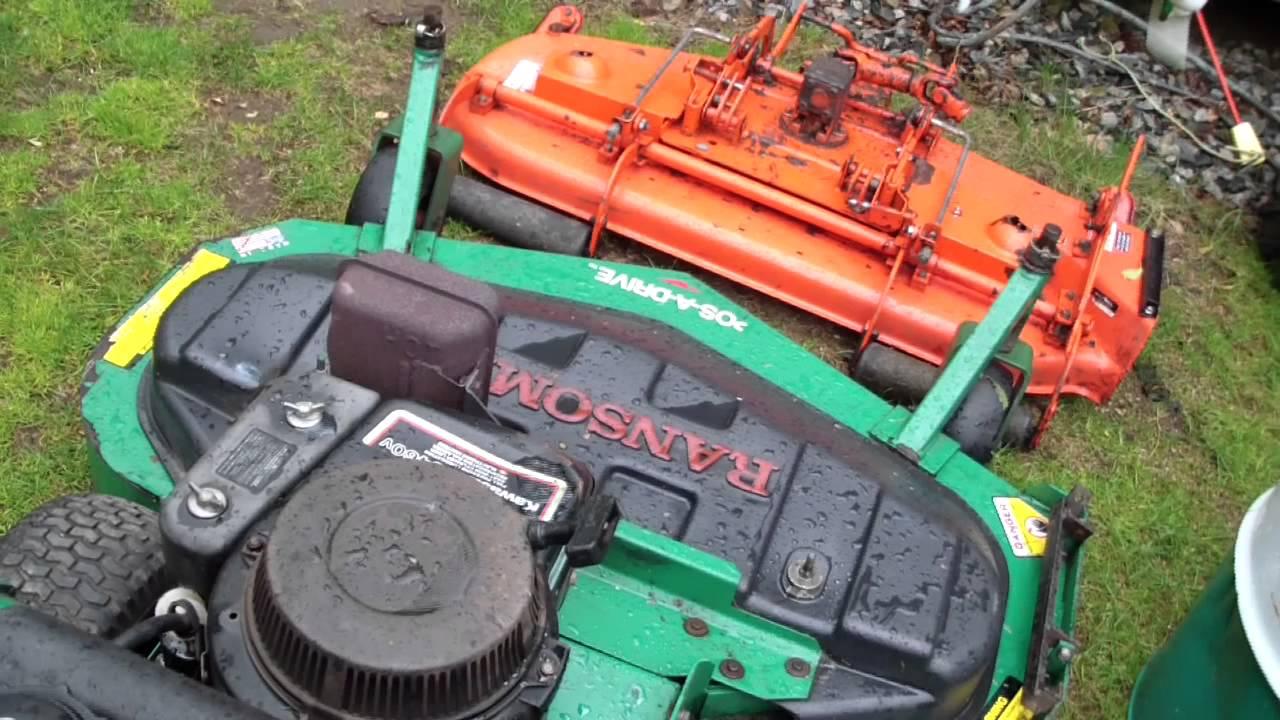 Bobcat ransomes mower problem on