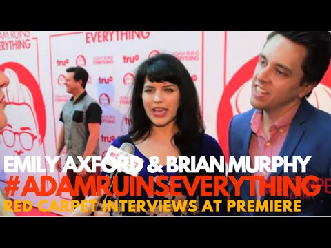 Emily Axford & Brian Murphy Interviewed at Adam Ruins Everything Event #AdamRuinsEverything #truTV