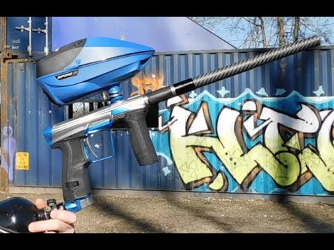New Planet Eclipse CS2 Paintball Shooting Video with Spire IR and D3FY Paint
