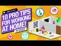 10 Pro Tips for Making Games from Home! 2020