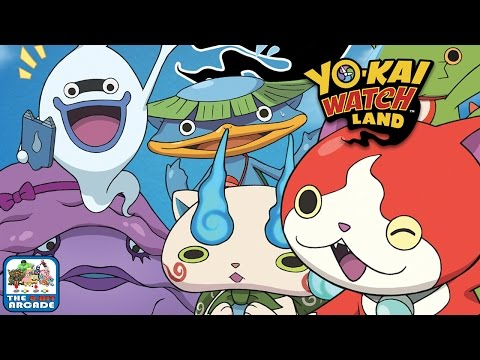 Yo-Kai Watch Land - Arcade Mini-Game: Robo Choco (iOS/iPad Gameplay)