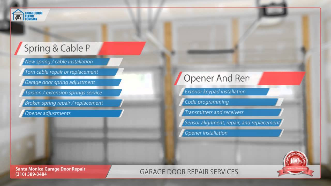 Santa monica garage door repair youtube for Garage door repair santa monica