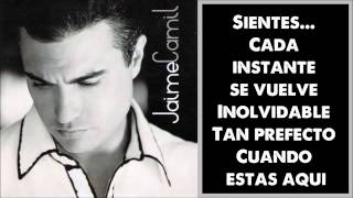 Jaime Camil Solo tu, solo yo Letra