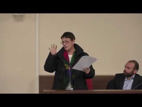 Intervento Consiglio comunale Barletta - Maria Campese