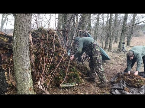 2 NIGHTS WINTER CAMPING AND CAMP BUILDING