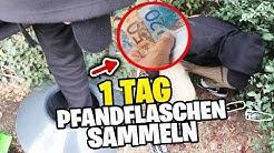 1 Tag PFANDFLASCHEN SAMMELN - Experiment