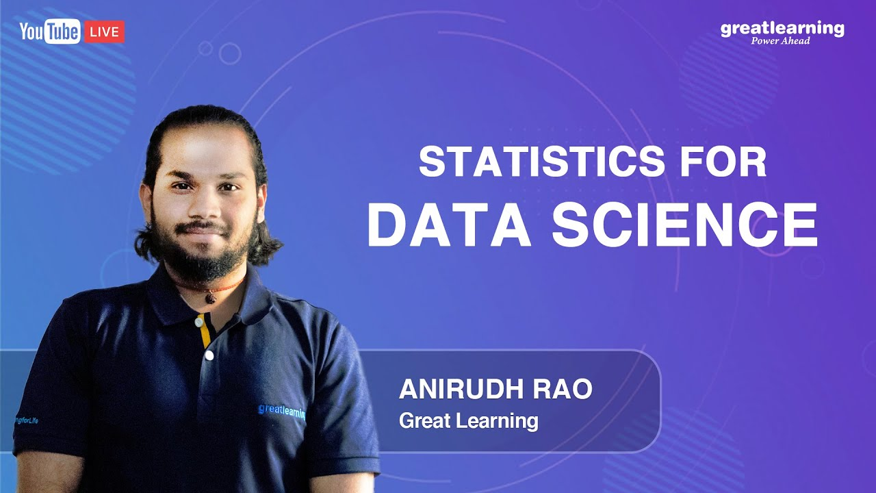 Statistics for Data Science | Statistics Tutorials