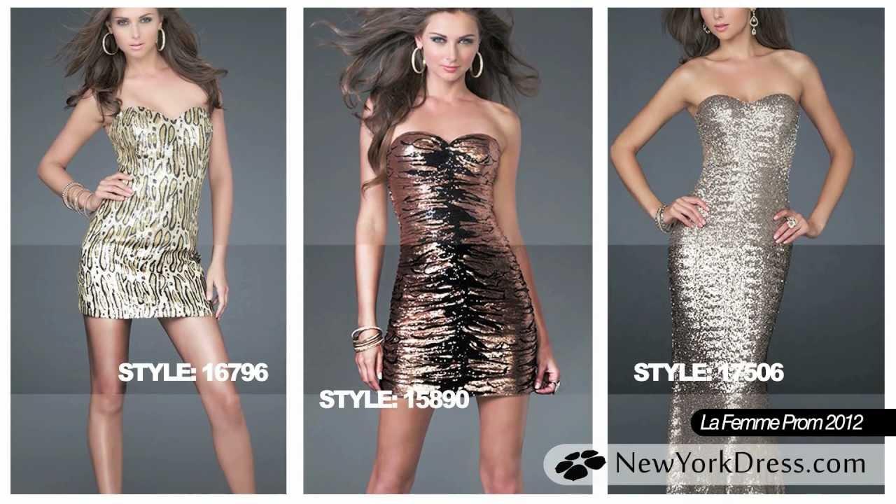 La Femme Prom Dresses 2012  e1849accc