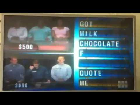 Chain Reaction funniest answer - YouTube
