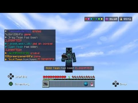 New texture pack and being accused of hacks (Hive) |
