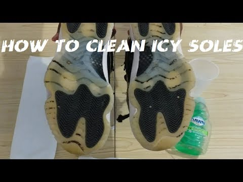 AJ 11 Low How To Clean Icy Soles 2018