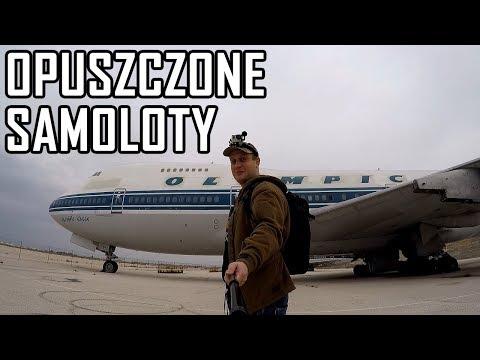 Opuszczony  Boeing 747 Jumbo Jet - Urbex History