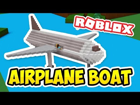 AIRPLANE BOAT - Roblox Build a Boat for Treasure