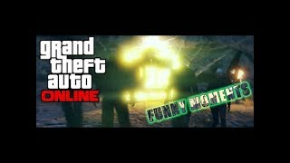 GTA Online ¦ Funny moment ¦ Video | 43 | MACHINE