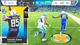 99 OVERALL ANTONIO GATES GOES OFF! Madden 20 Ultimate Team Ep.53