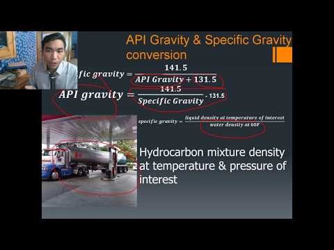 What Is API Gravity? API Degree? Is The Same As Specific Gravity? OGE