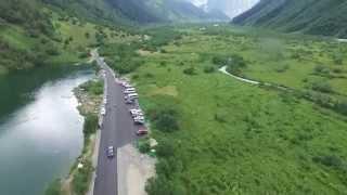 В 4 к. Бездонное озеро в горах в КЧР