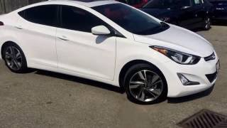 2016 Hyundai Elantra GLS | 6-Speed | One Owner | Walk-around