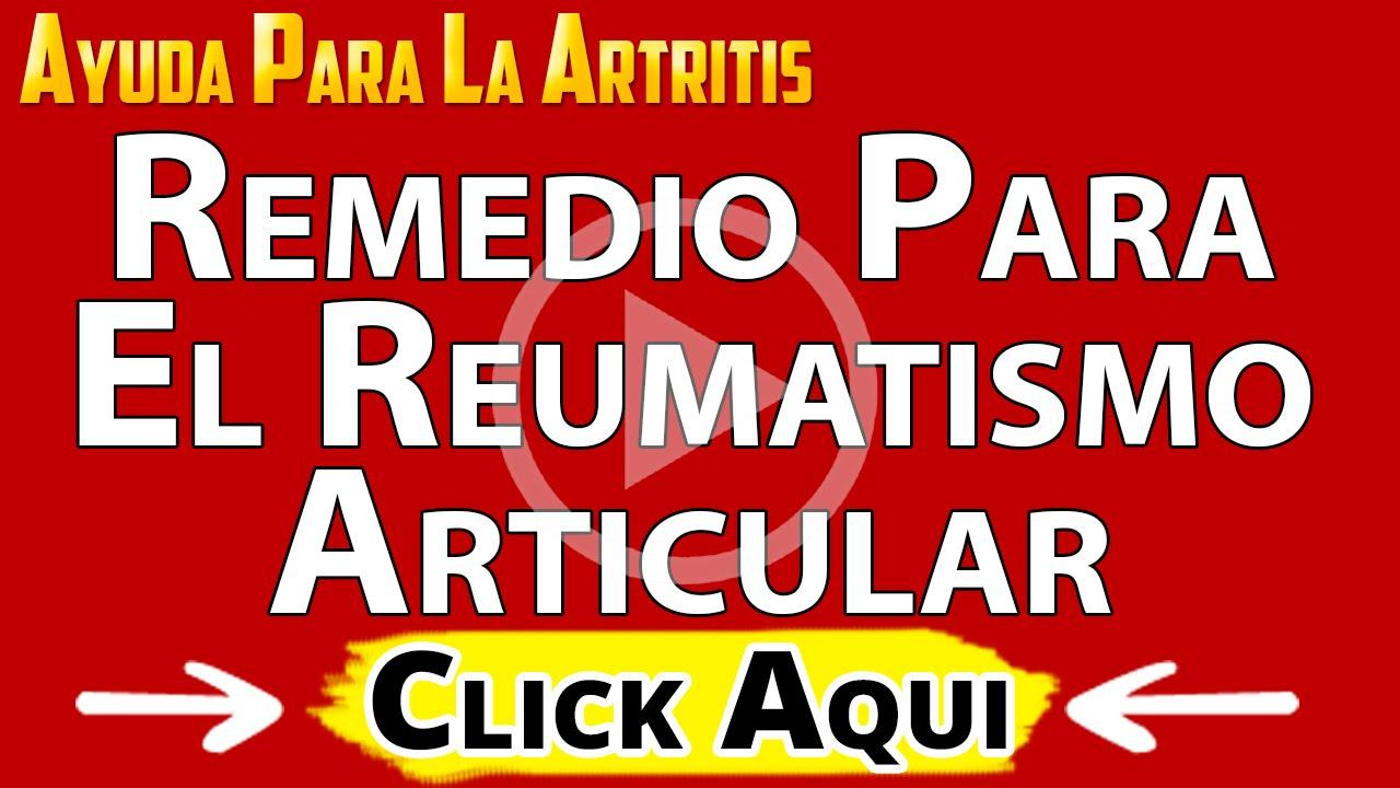 tratamiento natural para el reumatismo