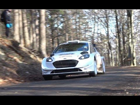 Essais pré Rallye Monte Carlo 2018 M Sport Elfyn Evans & Daniel Barritt Ford Fiesta WRC by Ouhla l