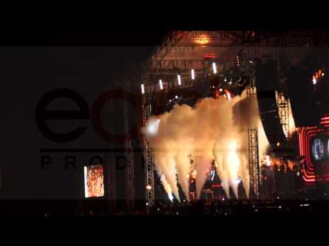 David Guetta - Monterrey Parque Fundidora [HD]. Earth Media Productions Mty.
