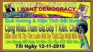 Tôi Muốn Dân Chủ .Truc Tiep( Tối  Ngày 12-11-2019