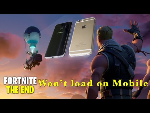 Fortnite Will Not Load On Iphone, Samsung, Mobile, Season 11 Chapter 2, How To Fix Fortnite Crashing