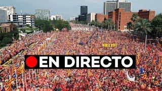 En directo: [DIADA 2018] Manifestación en Barcelona por la Diada de Cataluña