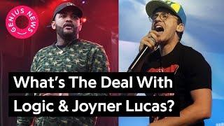 Are Joyner Lucas & Logic Dissing Each Other? | Genius News