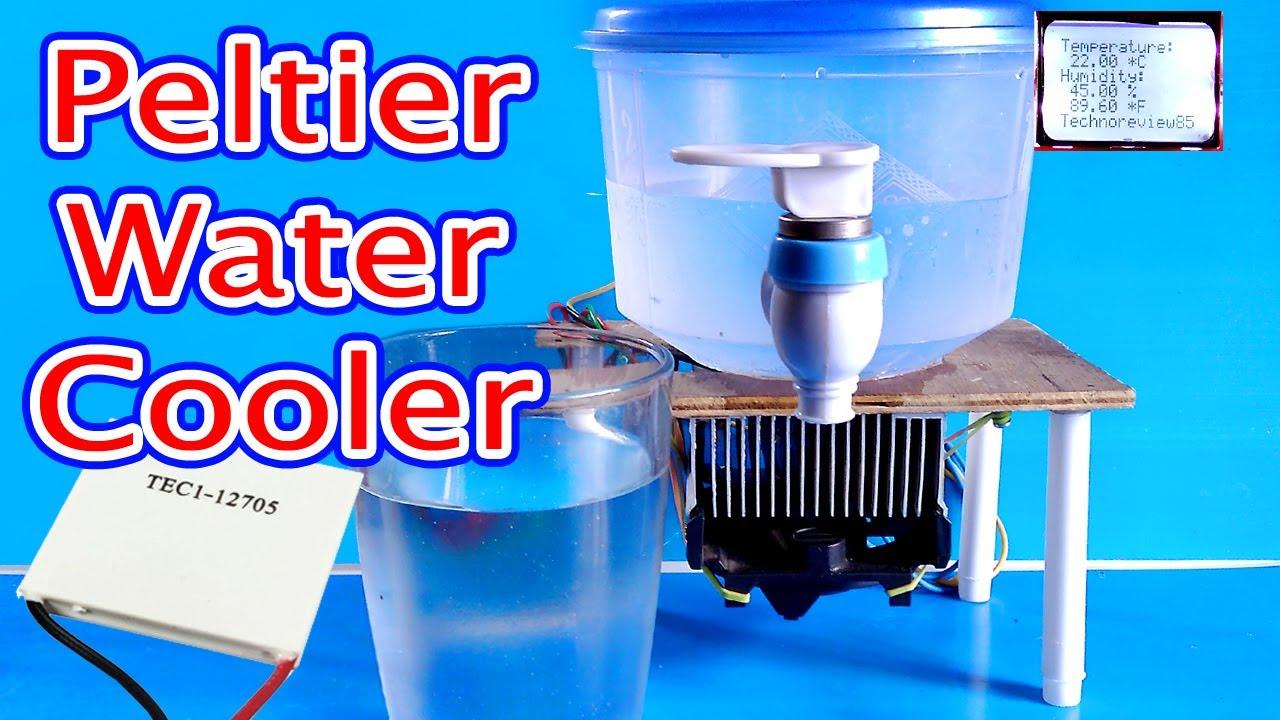Water Cooler Using peltier module | How to make