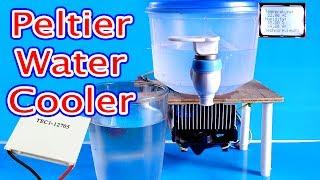 Water Cooler Using peltier module    How to make