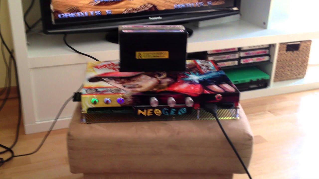 Neo Geo MVS Consolized 2Slot Board for Sale on Ebay.de - YouTube