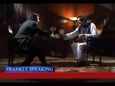 'Frankly Speaking' with Dr. Shashi Tharoor