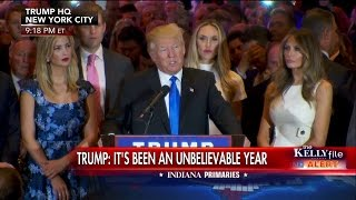Trump Speaks After Winning Indiana Primary: Its Been an Unbelievable Year