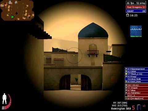 Vidéo d'urban Terror sur la map Riyadh en mode SR8